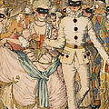 Masked Ball by Konstantin Andreevic Somov
