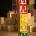 Mason - Alphabet Blocks by Edward Fielding