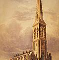 Masonry Church Circa 1850 by Aged Pixel