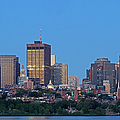 Massachusetts State House And Beacon Hill by Juergen Roth