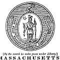 Massachusetts State Seal by Granger