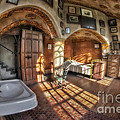 Master Bedroom At Fonthill Castle by Susan Candelario