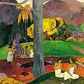 Mata Mua.in Olden Times by Paul Gauguin