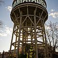 Matadero Water Tank by Pablo Lopez