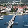 Matanzas Harbor St Augustine Florida by Bill Cobb