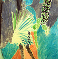 Matisse's Palm Leaf In Tangier by Cora Wandel