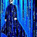 Matrix Neo Keanu Reeves 2 by Tony Rubino