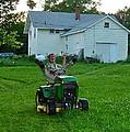 Matt Loves Mowing by Susan Wyman