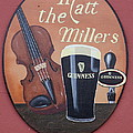 Matt The Millers Pub Sign by Christiane Schulze Art And Photography