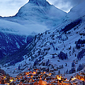 Matterhorn At Twilight by Brian Jannsen