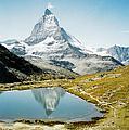 Matterhorn Cervin Reflection by Mary Ellen Mueller Legault