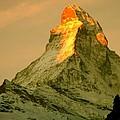 Matterhorn In Switzerland by Monique's Fine Art