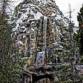 Matterhorn Mountain With Bobsleds At Disneyland by Thomas Woolworth