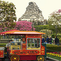Matterhorn Mountain With Hot Popcorn At Disneyland 01 by Thomas Woolworth
