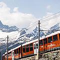 Matterhorn Railway Zermatt Switzerland by Matteo Colombo