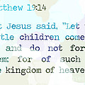 Matthew 19 by Andrea Anderegg