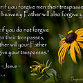 Matthew 6 14-15 Forgiveness by Inspirational  Designs