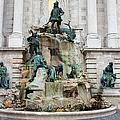 Matthias Fountain In Budapest by Artur Bogacki
