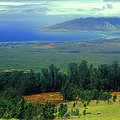 Maui Hawaii Upcountry View by John Burk