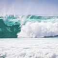 Maui Huge Wave by Denis Dore