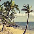 Maui Lu Beach Hawaii by Sharon Mau