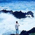 Maui Shore At The Keanae Pennisula 2 by J D Owen