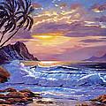 Maui Sunset by David Lloyd Glover