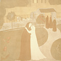 Maurice Denis French, 1870 - 1943. The Visitation La by Litz Collection