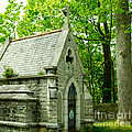 Mausoleum In Cemetery by Michael Moriarty