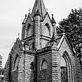 Mausoleum New England Black And White by Michael Moriarty