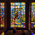 Mausoleum Stained Glass 01 by Thomas Woolworth