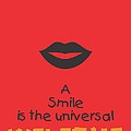 Max Eastman Smile quotes poster by Lab No 4 - The Quotography Department