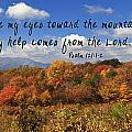 Max Patch Panorama With Scripture by Jill Lang