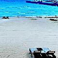 May Beach At Mackinaw by Tim Richards