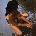 May Morning Arkansas River by Thu Nguyen