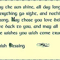 May The Sun Shine - Irish Blessing by Bill Cannon