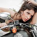 Maya And Harley by Oleg Koryagin