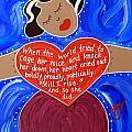 Maya Angelou by Angela Yarber