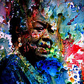 Maya Angelou Paint Splash by Brian Reaves