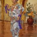 Maya Woman-mexico V2 by Douglas Barnard