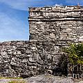 Mayan Building At Tulum by Jannis Werner