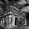 Mayan Building by Julian Cook