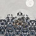 Mayan Temple Day by Kiki Art