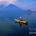 Mayan Fisherman Guatemala by Thomas R Fletcher