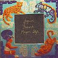 Mayan Jaguar Frame by Charles Lucas