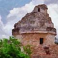 Mayan Observatory by Jeffrey Kolker