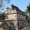 Mayan Ruin At Chichen Itza by Jannis Werner