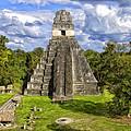 Mayan Temple At Tikal by Dominic Piperata