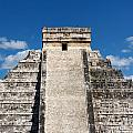 Mayan Temple Pyramid At Chichen Itza by Jannis Werner