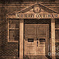 Mayberry Courthouse by David Arment